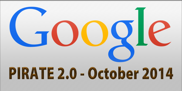 Google Update Pirate 2.0 - October 2014