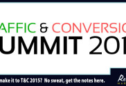 Notes from the 2015 Traffic and Conversion Summit