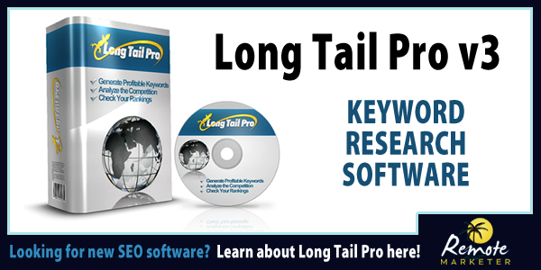 Long Tail Pro Review – Advanced Keyword Research Tool
